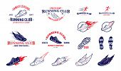 picture of clubbing  - Running club labels templates - JPG