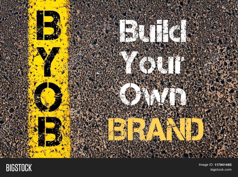 business acronym byob build your own brand stock photo stock business acronym byob build your own brand