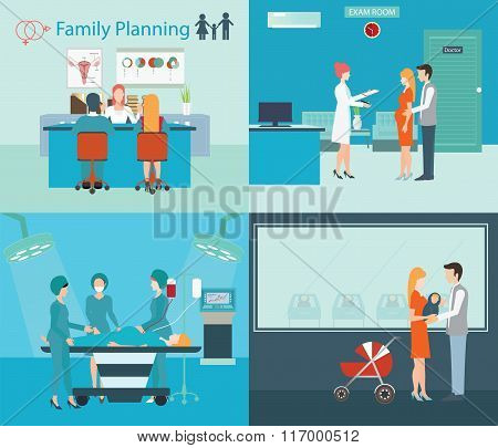 Family Planning At The Hospital.