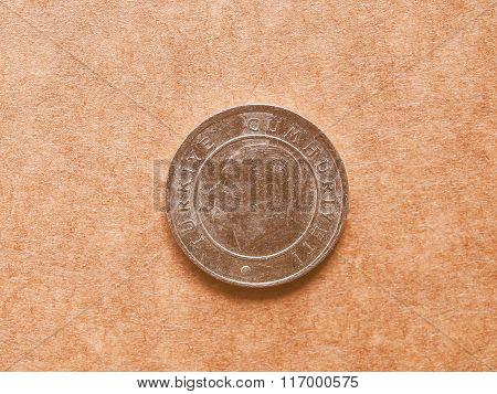 Turkish Coin Vintage