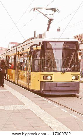 Tram Vintage