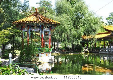 Chinese garden in Zurich