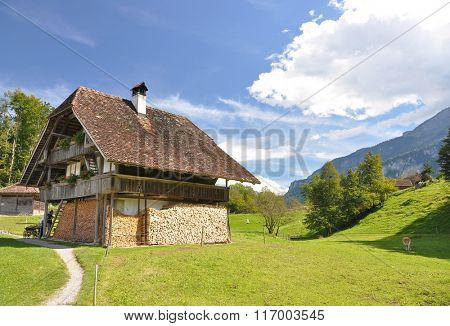 Swiss country house