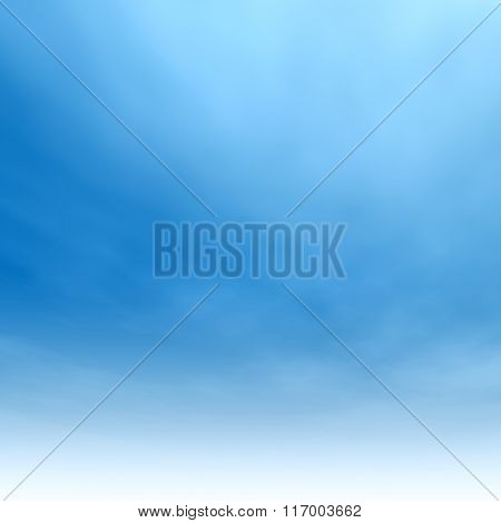 High resolution beautiful blue natural sky with white clouds paradise cloudscape square background