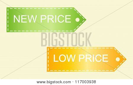 Set Of Colorful Sale Banners
