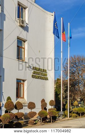 Constanta, Romania - January 6: Local Administrative Council On January 6, 2016 In Constanta. Part O