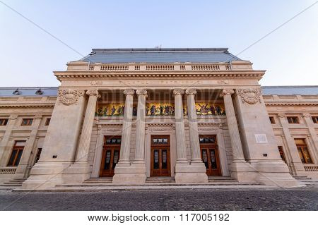 Bucharest, Romania - January 4:  Patriarchate Orthodox Palace On January 2, 2016 In Bucharest.