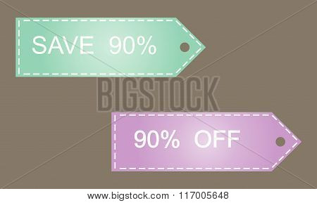 Sale 90 Off  Vector