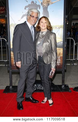 Linda Lavin and Steve Bakunas at the Los Angeles Premiere of