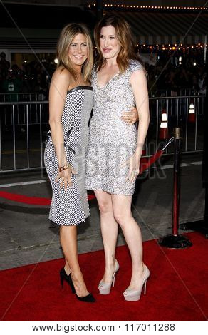 Jennifer Aniston and Kathryn Hahn at the Los Angeles Premiere of