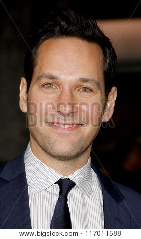 Paul Rudd at the Los Angeles Premiere of