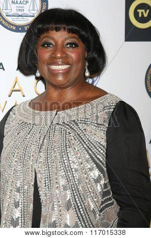 LOS ANGELES - FEB 4:  LaTanya Richardson Jackson at the Non-Televised 47TH NAACP Image Awards at the Pasadena Conference Center on February 4, 2016 in Pasadena, CA