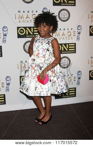 LOS ANGELES - FEB 4:  Trinitee Stokes at the Non-Televised 47TH NAACP Image Awards at the Pasadena Conference Center on February 4, 2016 in Pasadena, CA