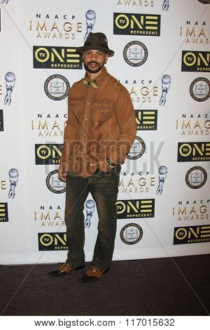 LOS ANGELES - FEB 4:  Aaron D. Spears at the Non-Televised 47TH NAACP Image Awards at the Pasadena Conference Center on February 4, 2016 in Pasadena, CA