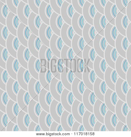 Seamless Colorful Abstract Modern Concentric Circles Texture, Background Pattern