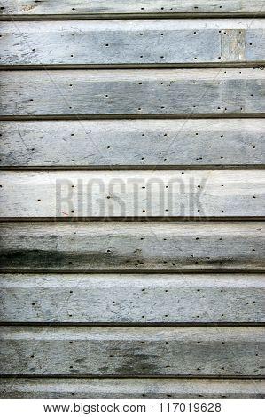 Simple wooden door