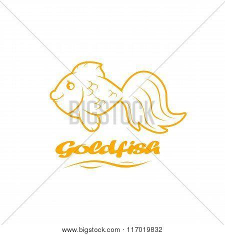 Icon Of Goldfish