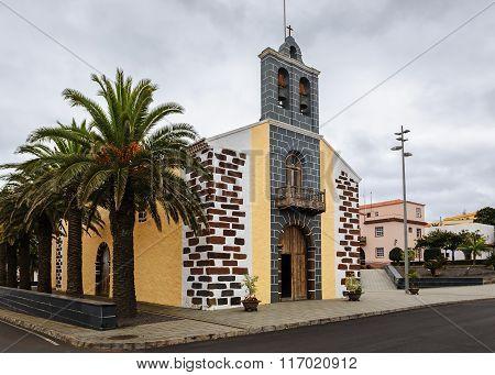Catholic Church In Barlovento, North Of La Palma, Canary Islands, Spain