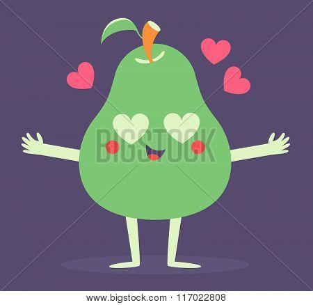Cute Pear Phone Crazy In Love