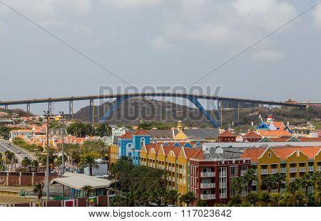 High Bridge Over Resorts In Curacao