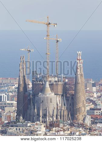 the main Catholic cathedral in Barcelona