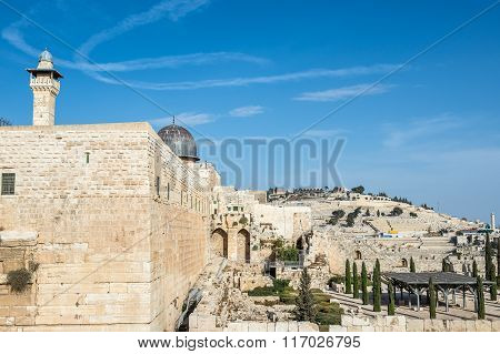 Temple Mount In Jerusalem