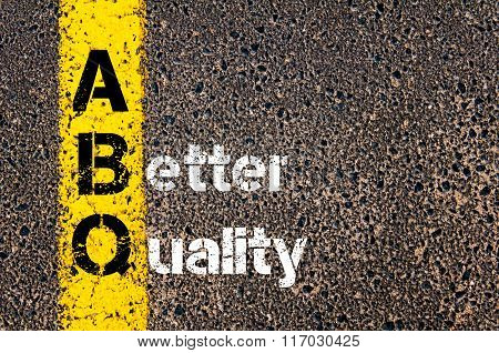 Business Acronym Abq A Better Quality