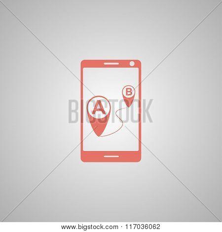 Gps Smartphoner Icon