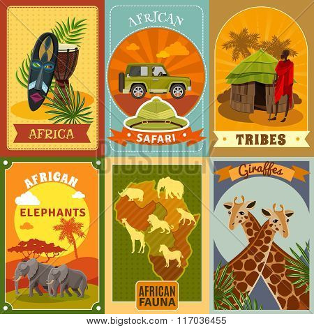 Safari Posters Set