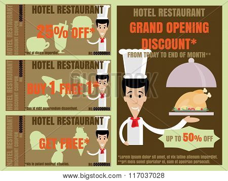 Restaurant Advertise And Coupon