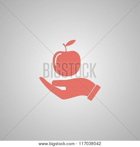 Pictograph Of Apple