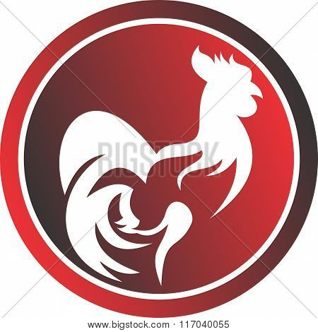 stock logo rooster