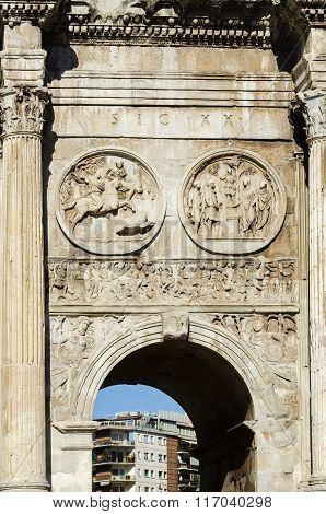 The Majesty Of Old Ruins In Rome