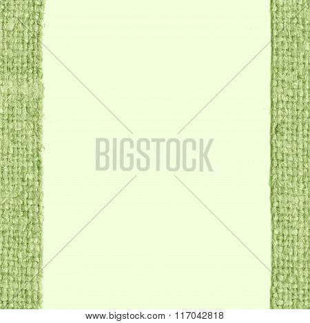 Textile Backdrop, Fabric Exterior, Emerald Canvas, Worn Material, Retro-styled Background
