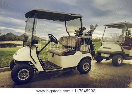 18th hole Golf Carts