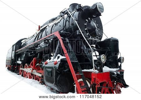 Black Old Train