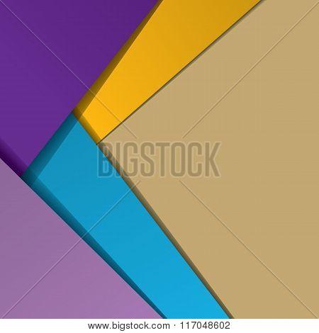 Modern material design background.