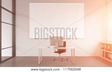 Working Place Of An Executive