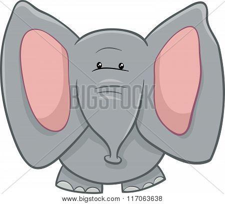 Elephant Character Cartoon