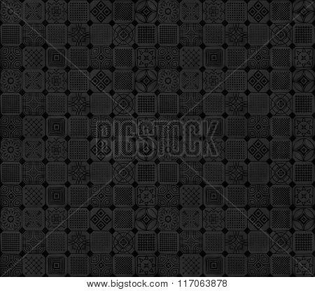 Black and grey subtle pattern design