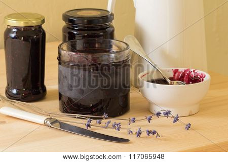 Homemade Jam Or Preserves