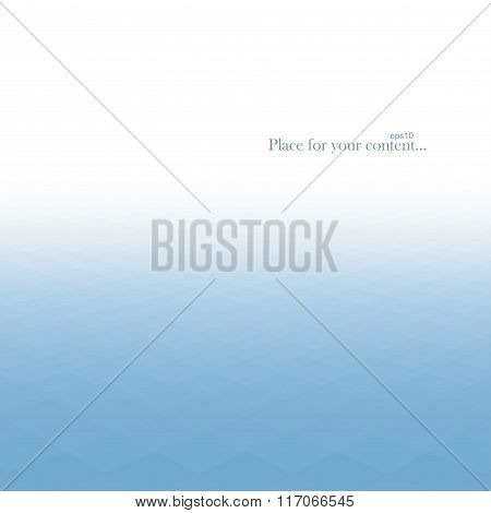 Abstract background, blue texture.