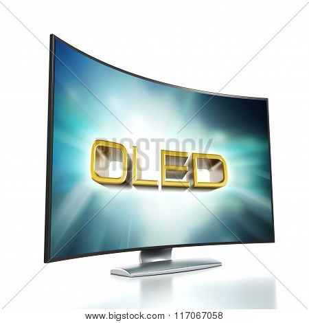 Curved Tv With Oled Screen