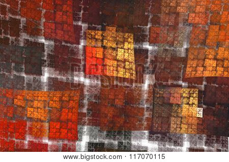 Bright Checkered Pattern