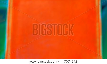 Blur Background Orange And Turquoise