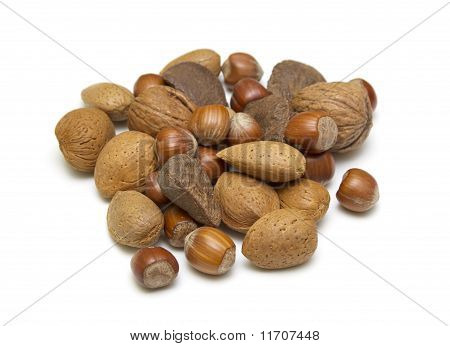 A Selection Of Nuts