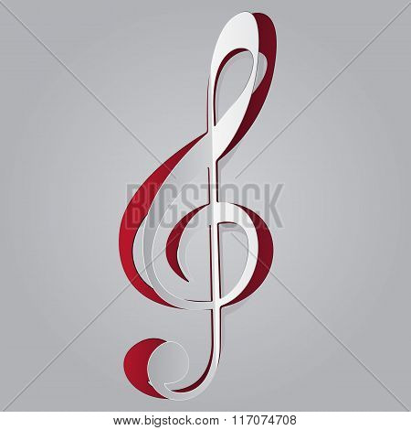Music violin key