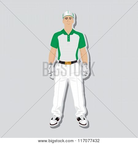 Golf player wear
