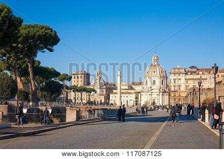 Umna Trajano In Rome