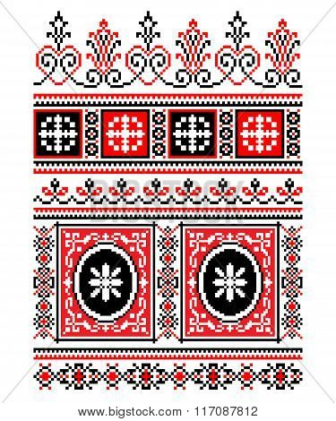Ukrainian National ornament.